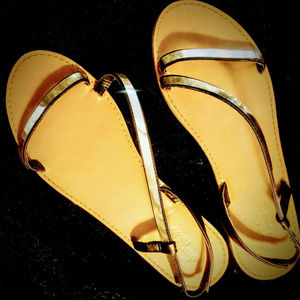 Gold Sandals - *FREE w Any Purchase!!*